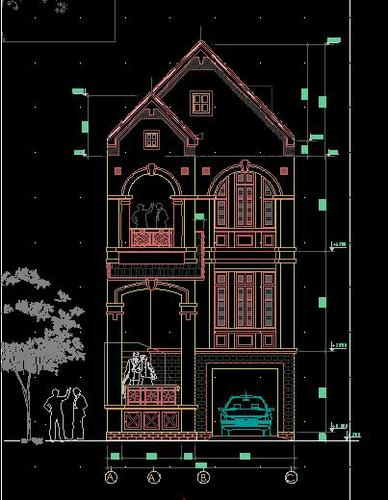 bai-tap-ve-chi-tiet-may-autocad-2d 4
